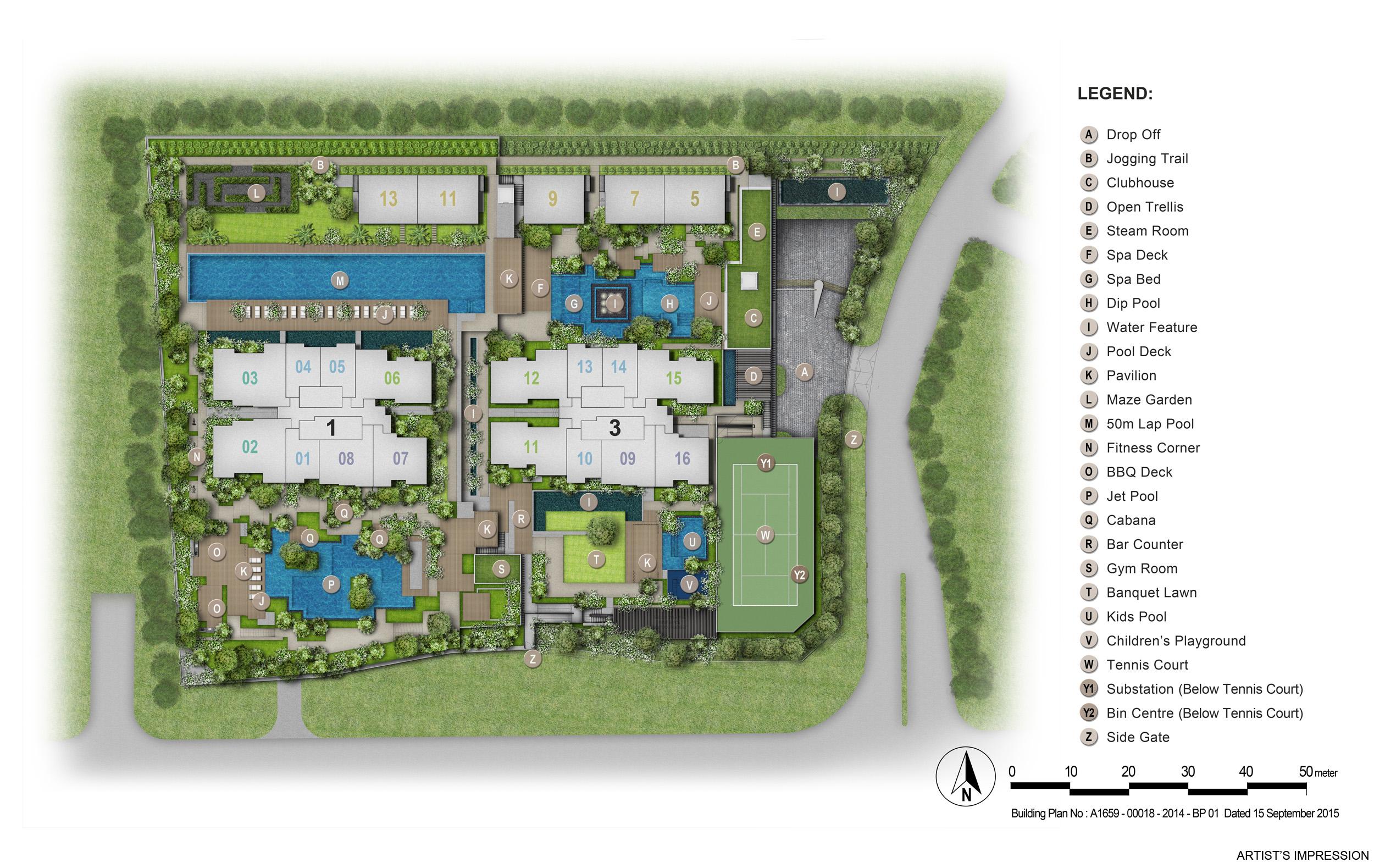 Thomson Impressions Site Plan