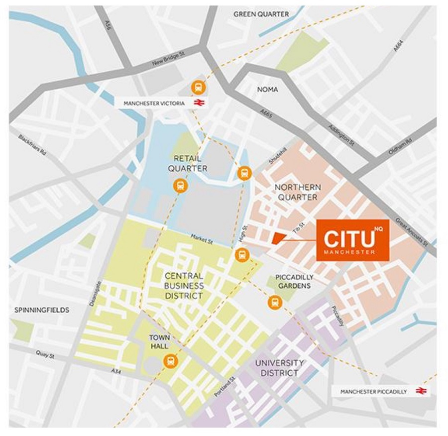 citunq manchester location