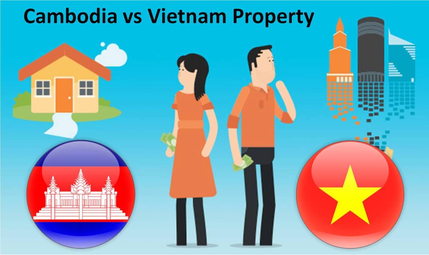 Cambodia Versus Vietnam Property