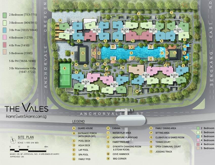 The Vales EC Site Plan