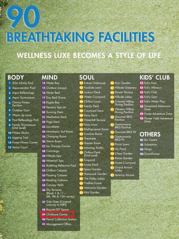 Grandeur Park Facilities