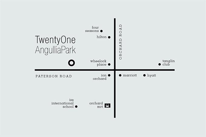 TwentyOne Angullia Park Location