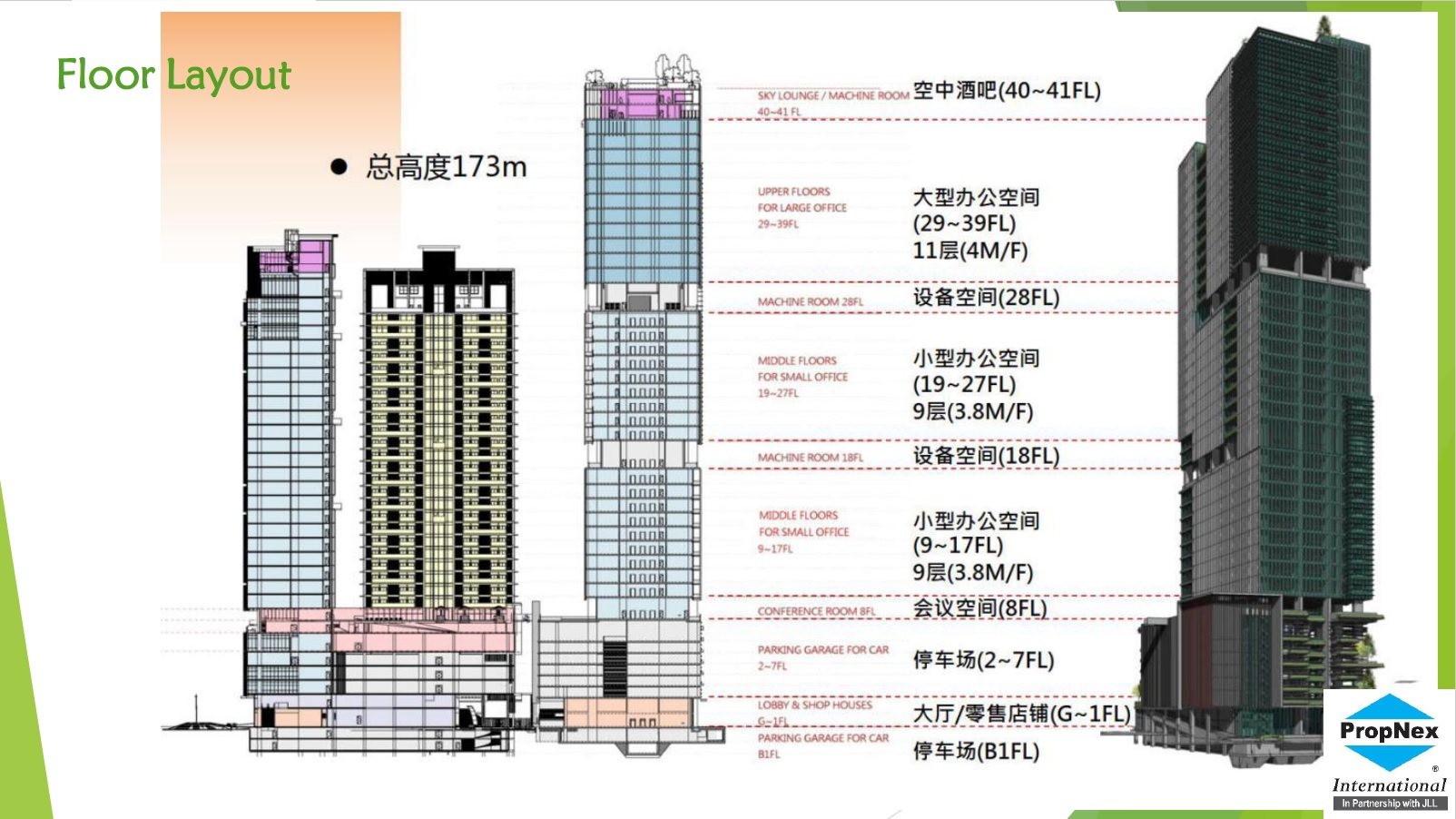 Gia Tower Building Structure