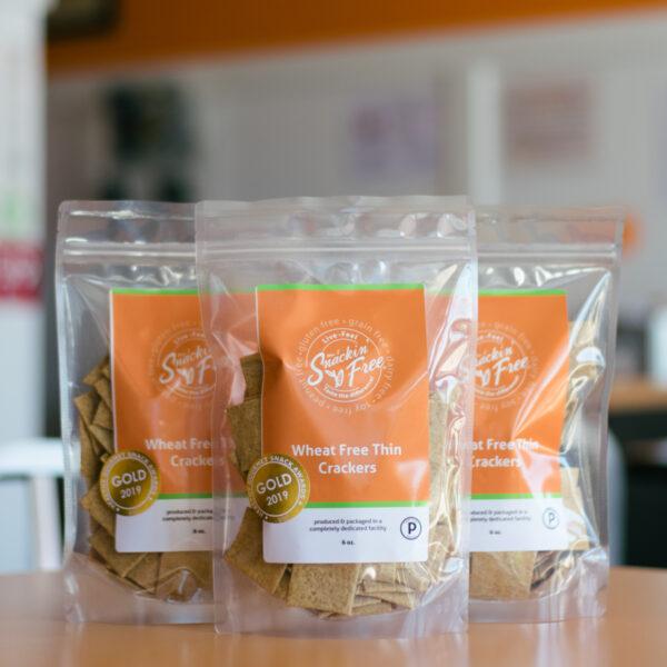 Paleo Wheat-free Thin Crackers