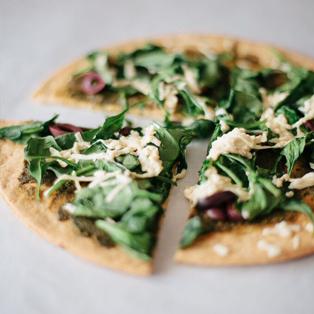 paleo vegan pizza crust