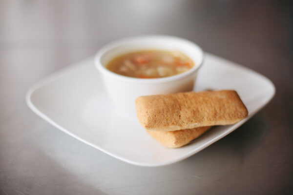 paleo breadsticks and soup