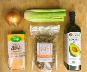 paleo stuffing ingredients