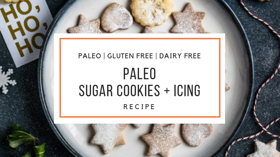 Paleo Sugar Cookies and Icing Recipe_Snackin Free_Paleo Recipes