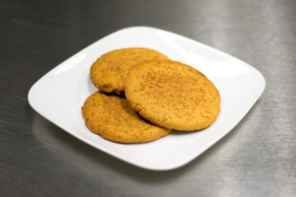 Paleo Vegan Lemon Cookies_Snackin' Free Paleo Cookies