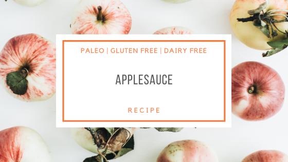 Paleo Applesauce Recipe