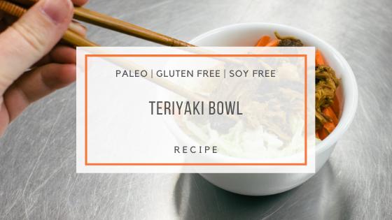 Paleo Teriyaki Bowl Recipe