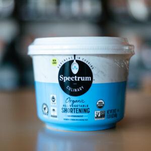 Spectrum Organic Shortening - Spectrum Organic Vegetable Shortening - Snackin' Free