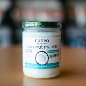 Nutiva Coconut Manna - Snackin' Free