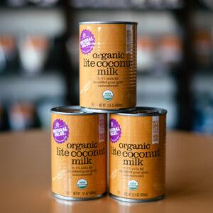 Natural Value Organic Lite Coconut Milk - Snackin' Free