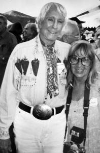 Jim and Mary Eshbaugh Hayes at an Aspen Times party, circa 1990.