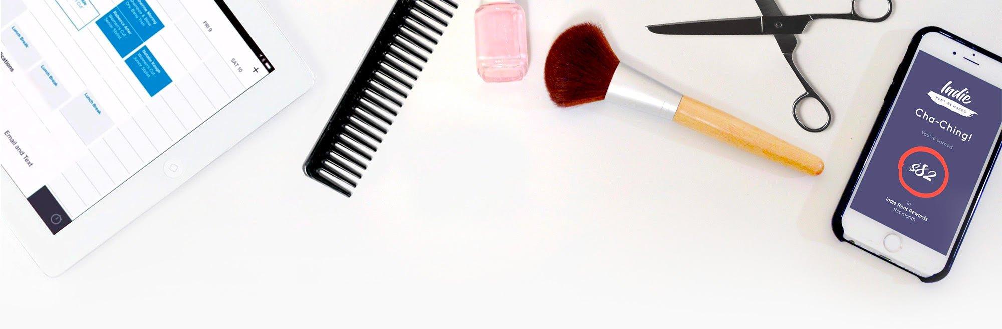 Top MakeUp Background