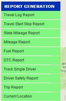Fleet tracker features