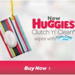 Cool Huggies Stylish Wipes