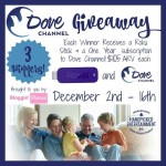 Dove channel giveaway