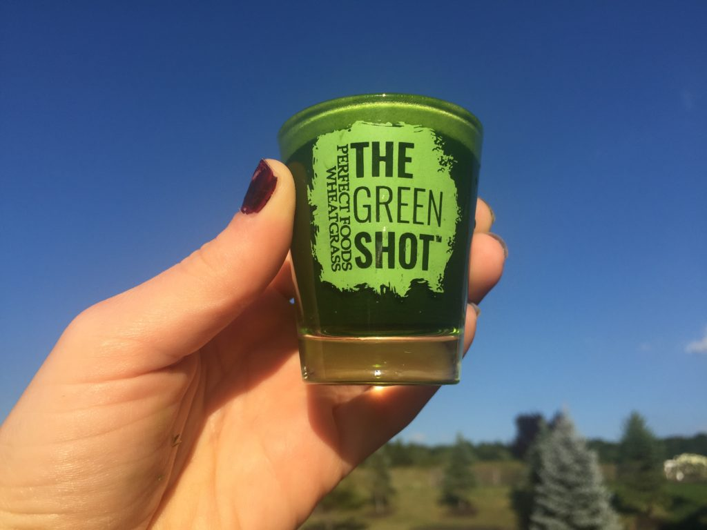 The Green Shot #thegreenshot wheatgrass