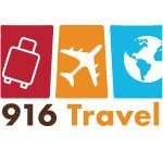 916 Travel Logo
