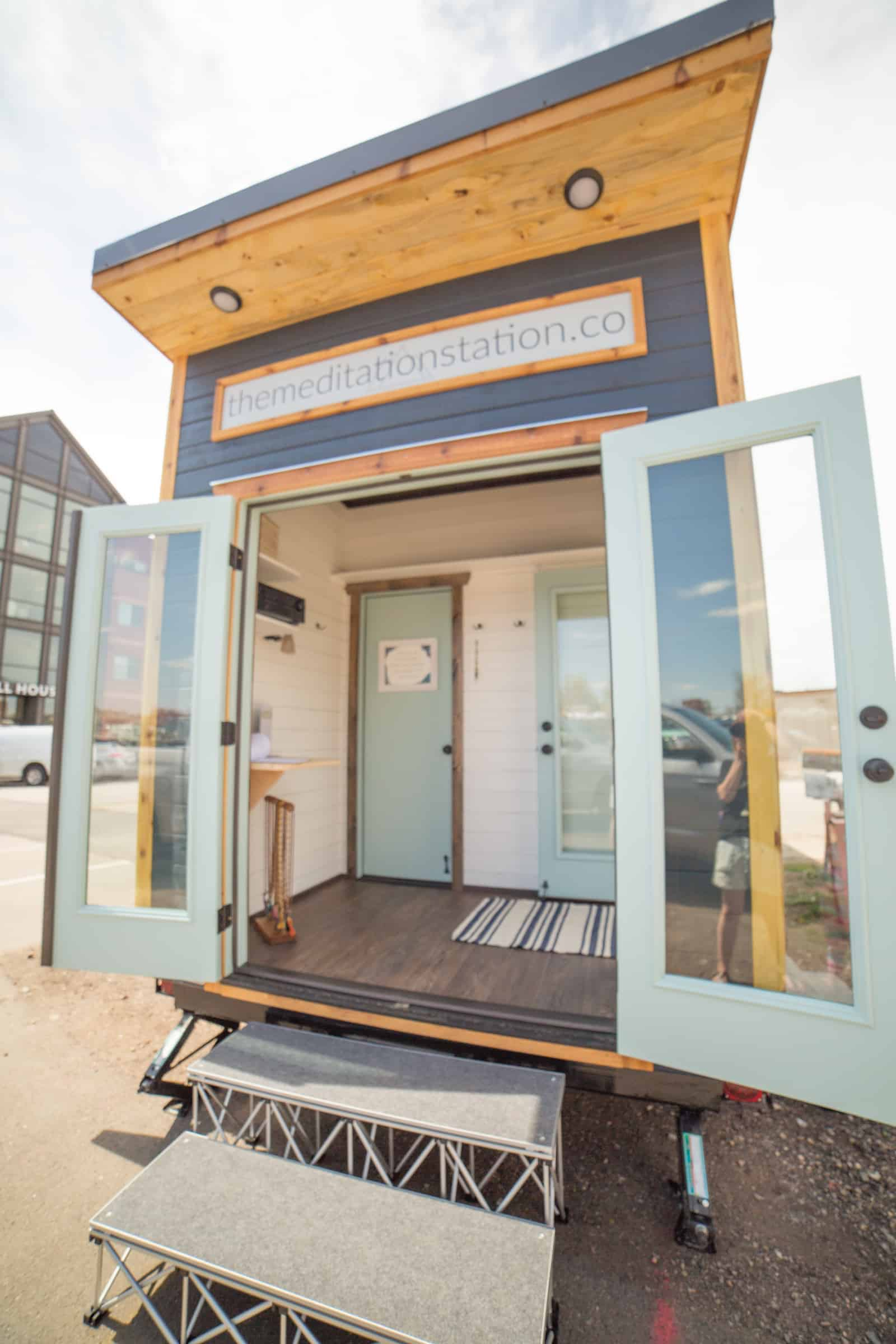 The Meditation Station is a non-affiliated mobile meditation studio in Fort Collins, CO (view our write-up in the Coloradoan) that provides the local companies, community and schools with meditation and mindfulness experiences that are sure to leave you with improved overall well-being and sense of inner peace. Our mission is to bring the benefits of meditation and mindfulness into the Fort Collins and Northern CO community, workplaces and schools without any associated religion, spirituality or philosophy. We want to create a safe place for people to relax and de-stress in to help bring times of calm to the chaos that can at times fill our lives. Deep breaths FoCo!