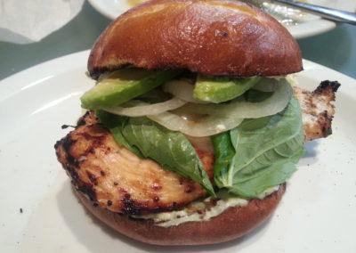 Jidori chicken sandwich