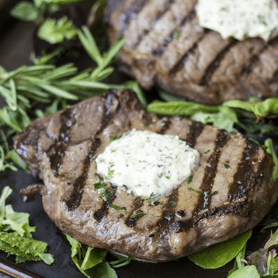Easy Grilled Sirloins