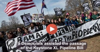 9 Democrats assisted the passage of Keystone XL Pipeline bill