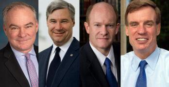 Democrats, Insanity, Sheldon Whitehouse, Mark Warner, Tim Kaine, Chris Coons