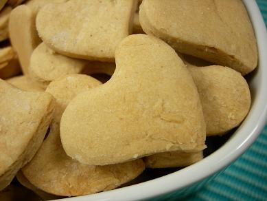 peanut butter honey hearts