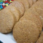 ginger molasses snaps
