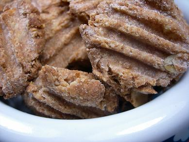 Peanutbutter Apple Crisp - Doggydessertchef.com