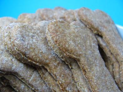 Honey Rosemary Chicken Dog Biscuit DoggyDessertChef.com