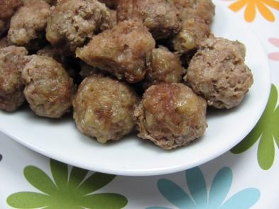 Parmesan Mini Meatballs Dog Treat Recipe
