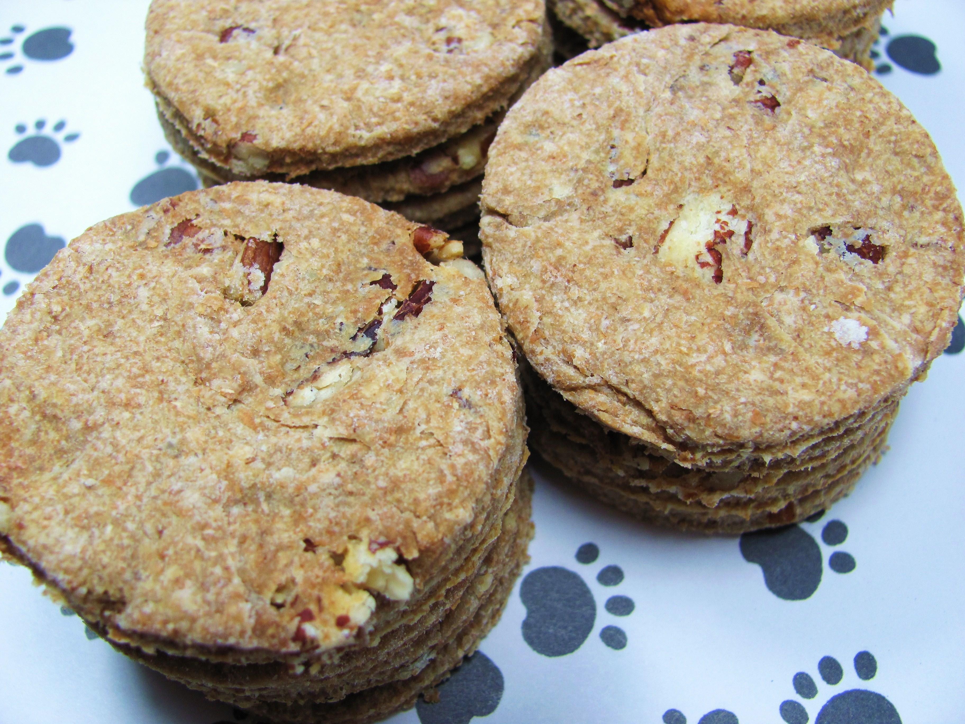 Pecan Pie Dog Treat/Biscuit Recipe
