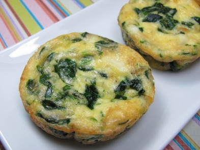Spinach and Goat Cheese mini Quiche Dog Treat/Biscuit Recipe