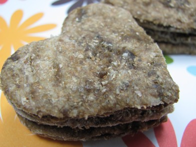 easy peasy liver treats dog treat/biscuit recipe