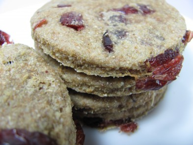 Cranberry Turkey Dog Treat/Biscuit Recipe