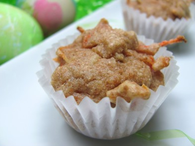 carrot mini-muffins dog treat/biscuit recipe
