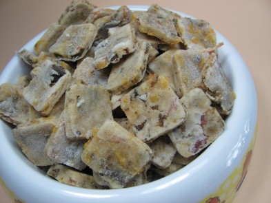 (wheat-free) bacon and liver dog treat/biscuit recipe