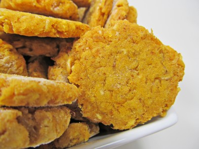 (Wheat-Free) Sweet Potato Chicken Dog Treat/Biscuit Recipe
