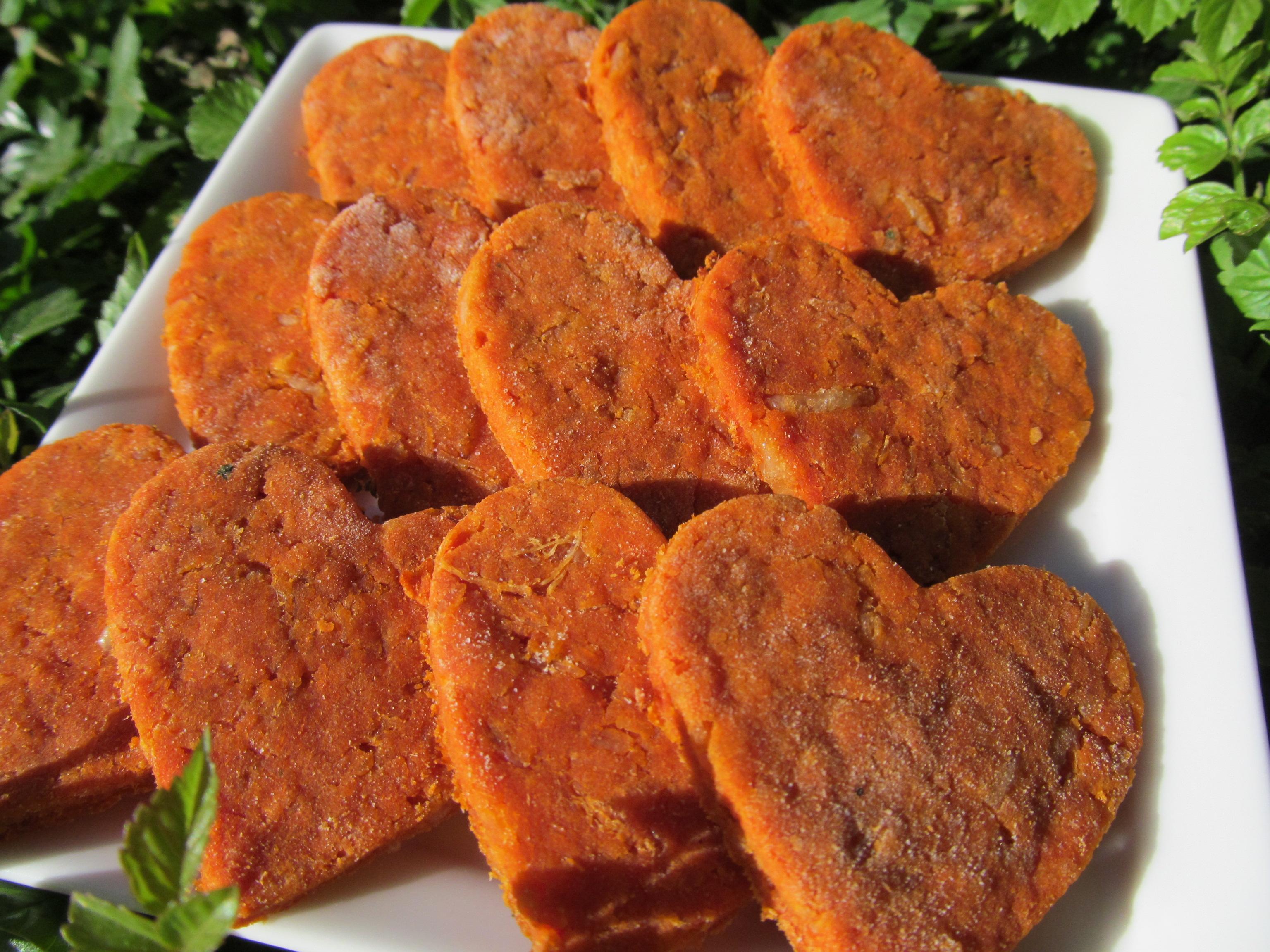 Tomato Chicken Parmesan Dog Treat/Biscuit Recipe