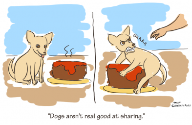 Things I've Learned: Dogs Aren't Real Good at Sharing