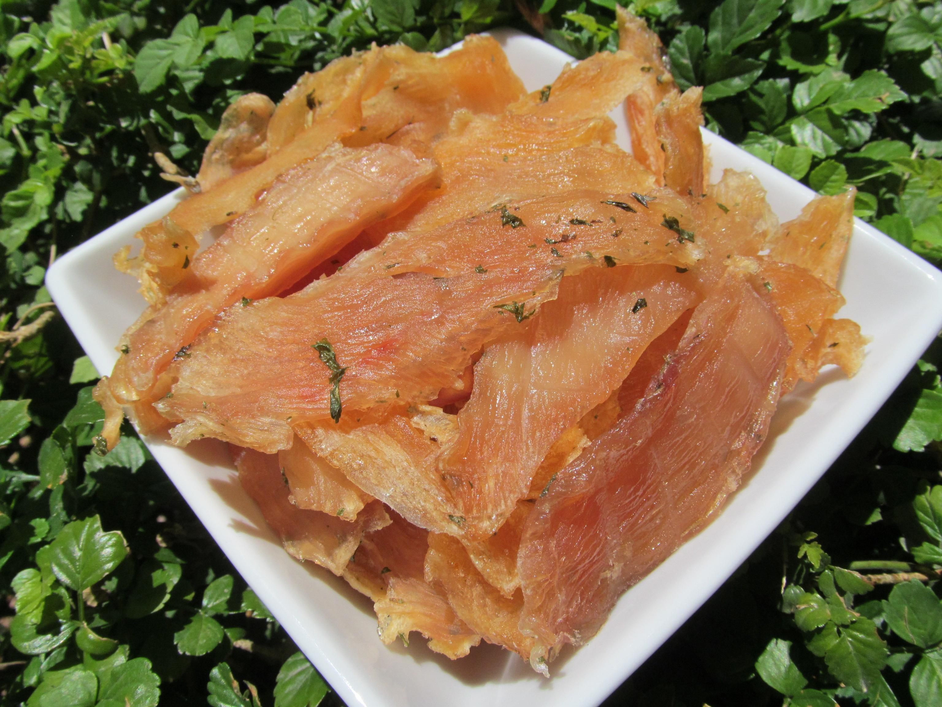 Mint Chicken Jerky Dog Treat Recipe