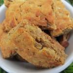 (gluten-free) peanut butter apple biscotti bites