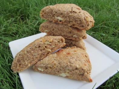 Cheesy Chicken Scones Dog Treat/Biscuit Recipe