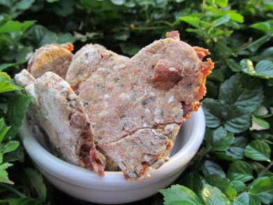 bacon breath dog treat/biscuit recipe