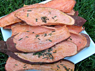 rosemary yam dog chew
