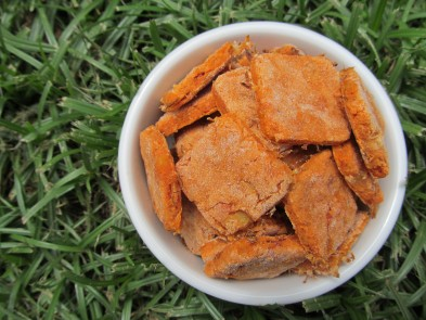 (wheat and gluten-free) hawaiian pizza dog treat/biscuit recipe